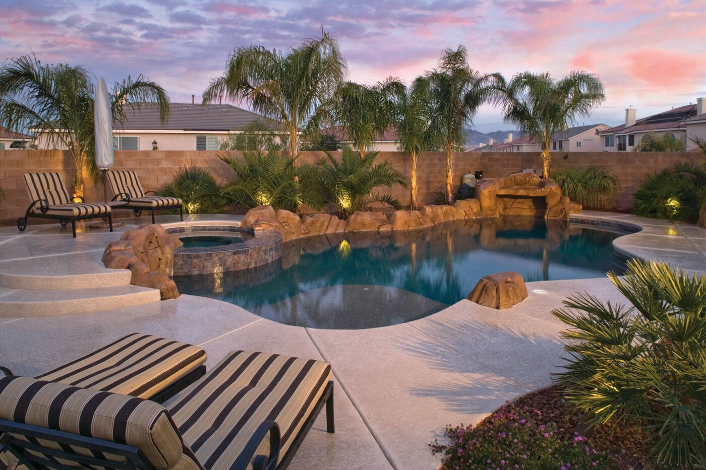 Custom Backyard Pool