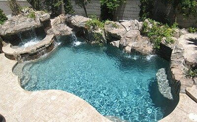 Freeform Pool by Anthony and Sylvan